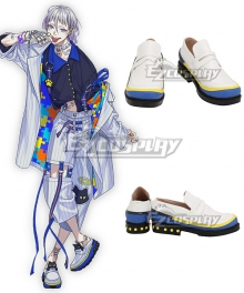 Paradox Live The Cat's Whiskers Ryu Natsume White Cosplay Shoes