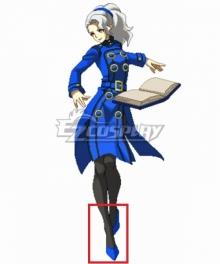Persona 4 Megami Tensei Margaret Blue Cosplay Shoes