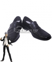 Persona 4 Yu Narukami Black Cosplay Shoes