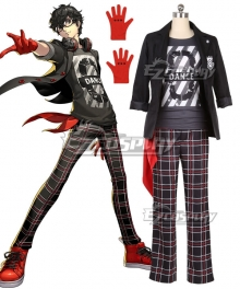 Persona 5: Dancing Star Night Protagonist Akira Kurusu Ren Amamiya New Cosplay Costume
