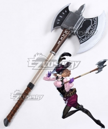 Persona 5 Noir Haru Okumura Axe Cosplay Weapon Prop - B Edition