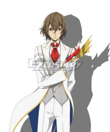 Persona 5 the Animation Masquerade Party Crow Goro Akechi Cosplay Costume