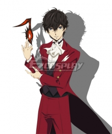 Persona 5 the Animation Masquerade Party Joker Protagonist Akira Kurusu Ren Amamiya Cosplay Costume