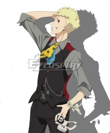 Persona 5 the Animation Masquerade Party Skull Ryuji Sakamoto Cosplay Costume