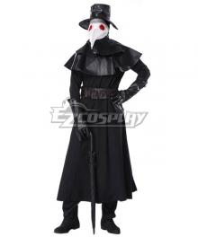 Plague Doctor Halloween Cosplay Costume - B Edition