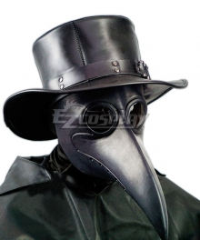 Plague Doctor Halloween Hat Cosplay Accessory Prop
