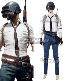 PlayerUnknown's Battlegrounds First Person Game Cosplay Costume - No bag and gun