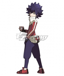 Pokémon Black White 2 Pokemon Pocket Monster Hugh Cosplay Costume