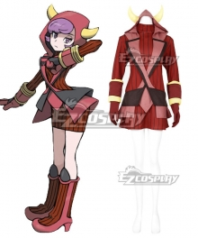 Pokémon Omega Ruby Pokemon Pocket Monster Courtney Cosplay Costume