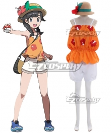 Pokémon Pokemon Ultra Sun and Ultra Moon Female Protagonist Cosplay Costume