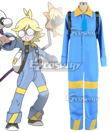 Pokémon XY Pokemon Pocket Monster Clemont Cosplay Costume