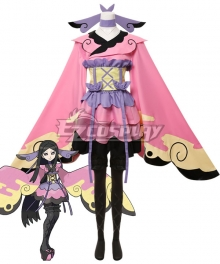 Pokémon XY Pokemon X and Y Pocket Monster Valerie Cosplay Costume