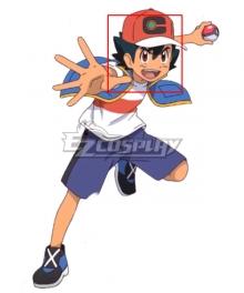 Pokemon 2019 Anime Series Ash Ketchum Dark Green Cosplay Wig