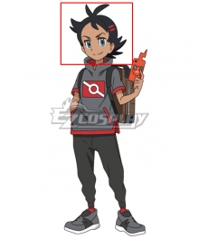 Pokemon 2019 Anime Series Go Black Cosplay Wig