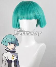 Pokemon Galactic Grunt Blue Cosplay Wig