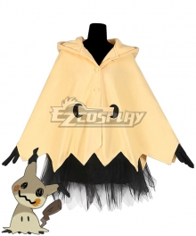 Pokemon Mimikyu Halloween Party pajamas Cosplay Costume