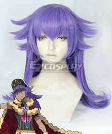 Pokemon Pokémon Sword And Pokémon Shield Leon Purple Cosplay Wig