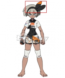 Pokemon Pokémon Sword And Shield Fighting-Type Bea Cosplay Accessory Prop