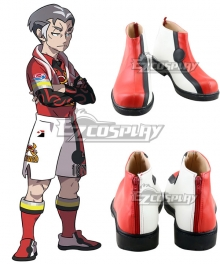 Pokemon Pokémon Sword And Shield Kabu Red White Cosplay Shoes