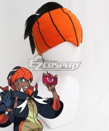 Pokemon Pokémon Sword And Shield Raihan Black Grey Cosplay Wig - No Kerchief