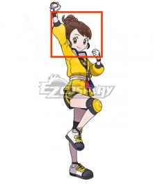 Pokemon Pokémon Sword and Pokémon Shield Female Trainer The Isle of Armor Brown Cosplay Wig