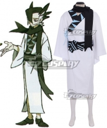 Pokemon Sun and Moon Grimsley Cosplay Costume