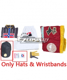 Pokemon Pokémon Sword And Pokémon Shield Leon Cosplay Costume - Only Wristbands and Hat