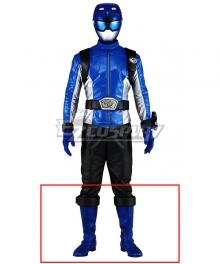 Power Rangers Beast Morphers Beast Morphers Blue Blue Shoes Cosplay Boots