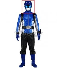 Power Rangers Beast Morphers Beast Morphers Blue Helmet Cosplay Accessory Prop