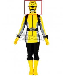 Power Rangers Beast Morphers Beast Morphers Yellow Helmet Cosplay Accessory Prop