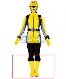 Power Rangers Beast Morphers Beast Morphers Yellow Yellow Shoes Cosplay Boots