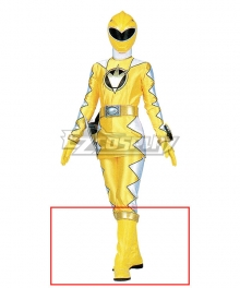 Power Rangers Dino Thunder Yellow Dino Ranger Yellow Shoes Cosplay Boots