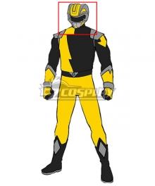 Power Rangers HyperForce HyperForce Yellow Helmet Cosplay Accessory Prop