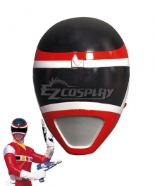 Power Rangers In Space Red Space Ranger Helmet Cosplay Accessory Prop