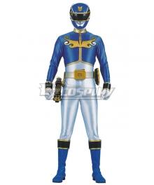 Power Rangers Megaforce Megaforce Blue Cosplay Costume