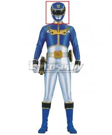 Power Rangers Megaforce Megaforce Blue Helmet Cosplay Accessory Prop