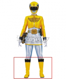 Power Rangers Megaforce Megaforce Yellow Yellow Shoes Cosplay Boots