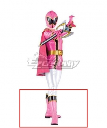 Power Rangers Mystic Force Pink Mystic Ranger Pink Shoes Cosplay Boots