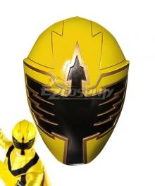 Power Rangers Mystic Force Yellow Mystic Ranger Helmet 3D Printed Cosplay Accessory Prop