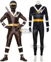 Power Rangers Ninja Sentai Kakuranger NinjaBlack Cosplay Costume