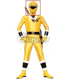 Power Rangers Ninja Sentai Kakuranger NinjaYellow Helmet Cosplay Accessory Prop