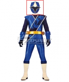 Power Rangers Ninja Steel Ninja Steel Blue Helmet Cosplay Accessory Prop