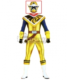 Power Rangers Ninja Steel Ninja Steel Gold Helmet Cosplay Accessory Prop