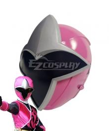 Power Rangers Ninja Steel Ninja Steel Pink Helmet Cosplay Accessory Prop
