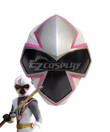 Power Rangers Ninja Steel Ninja Steel White Helmet Cosplay Accessory Prop