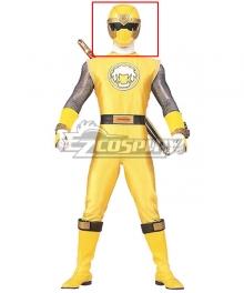 Power Rangers Ninja Storm Yellow Wind Ranger Helmet Cosplay Accessory Prop