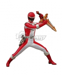 Power Rangers Operation Overdrive Red Overdrive Ranger Cosplay Costume
