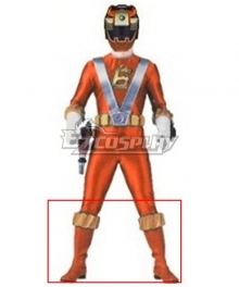 Power Rangers RPM Operator Series Orange Orange Shoes Cosplay Boots