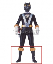 Power Rangers RPM Ranger Operator Series Black Black Shoes Cosplay Boots