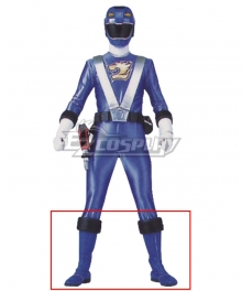 Power Rangers RPM Ranger Operator Series Blue Blue Shoes Cosplay Boots